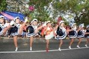 Düsseldorfer Karneval mit Delegation und Tanzgruppe auf dem Seychellen Carnaval 2016