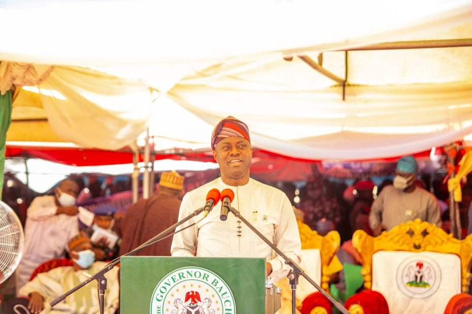Gover Makinde at the Groundbreaking Ceremony of the Construction of the 24.5km Itas-Gadau Road, Bauchi State