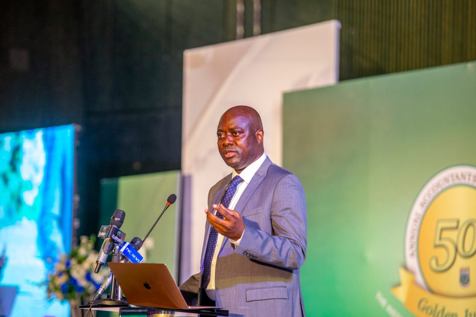 Governor Seyi Makinde Speaking on Sustainable Leadership at the ICAN Conference