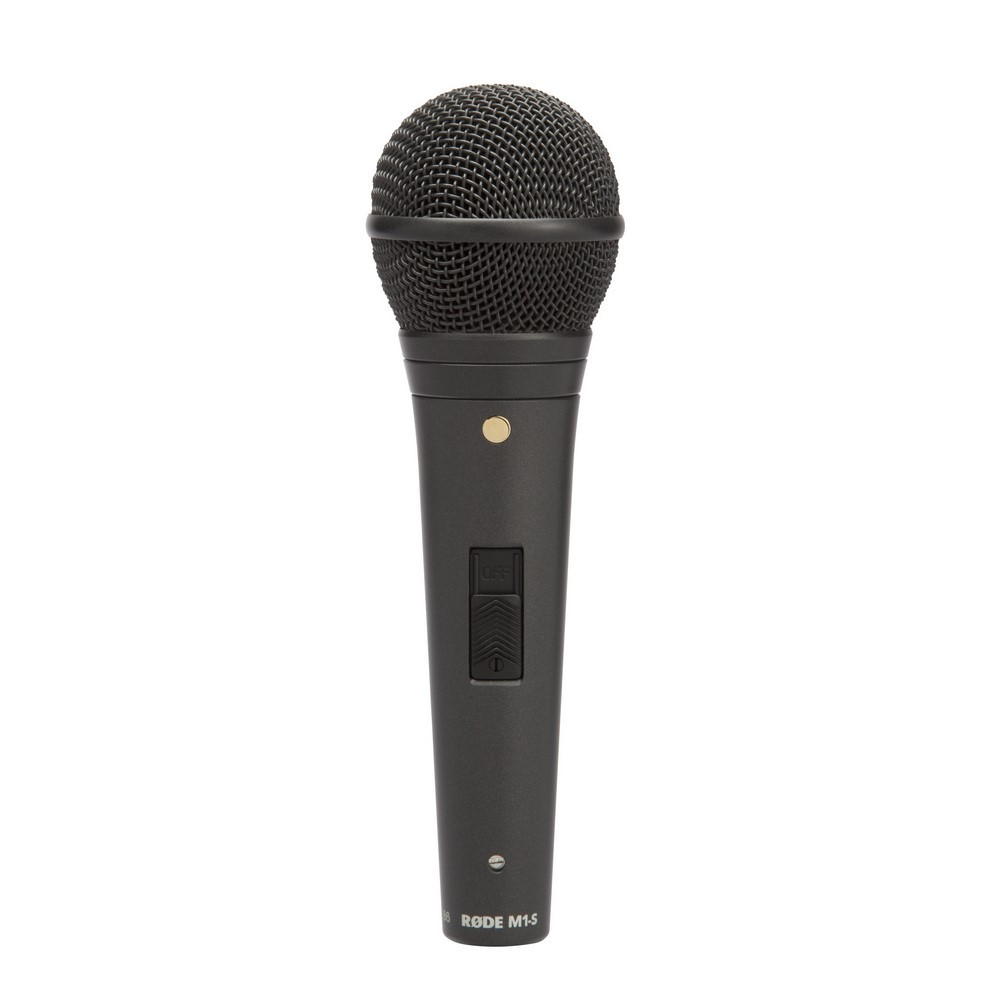 RODE M1-S Microphone de scène dynamique, cardioÏde avec switch