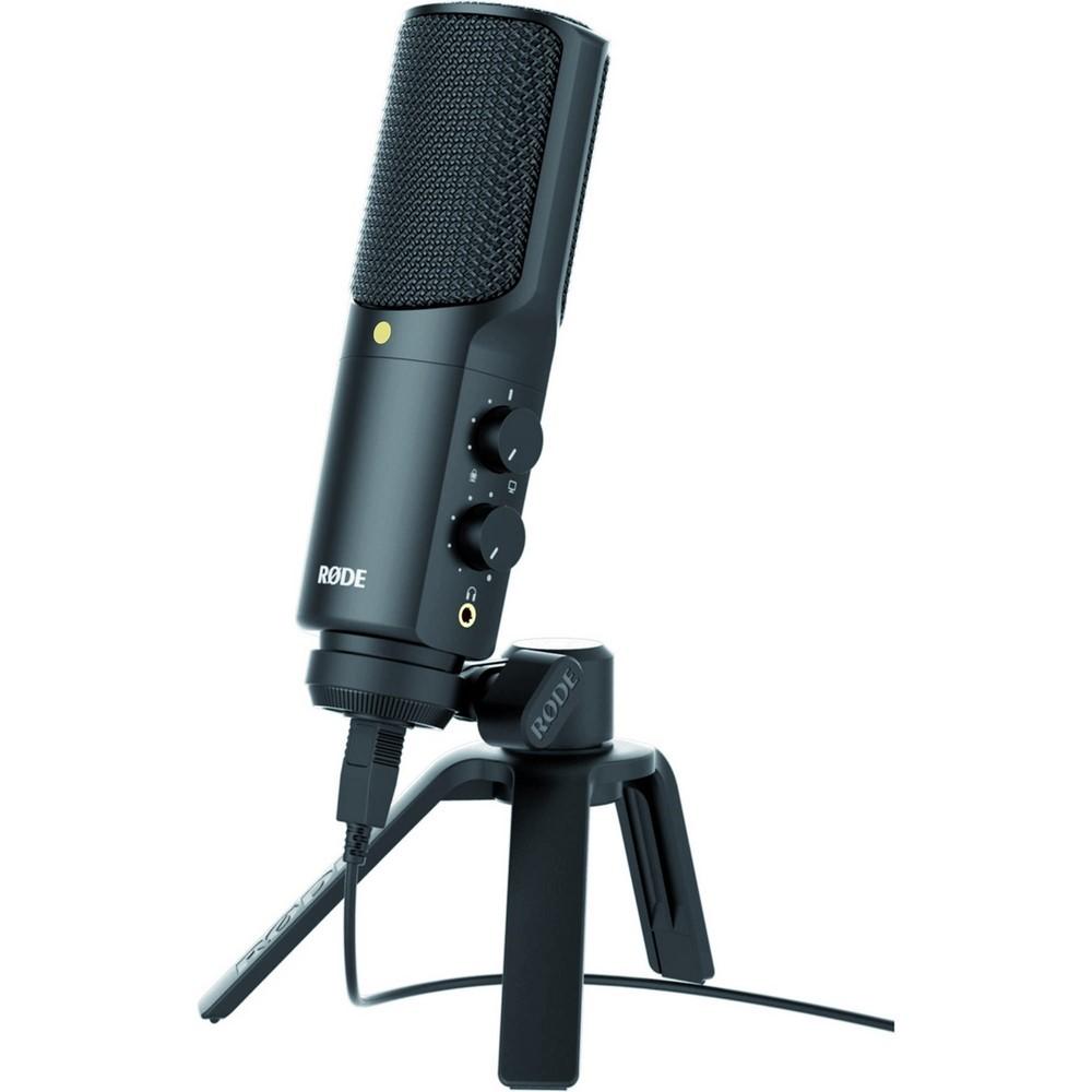 RODE NTUSB Microphone à condensateur USB compatible PC, Mac,Ipad.