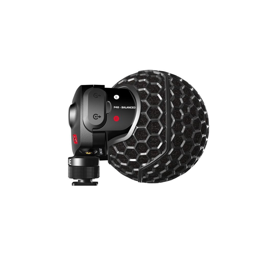 RODE STEREO VIDEO MIC X Microphone pour caméra video stéréo en X/Y