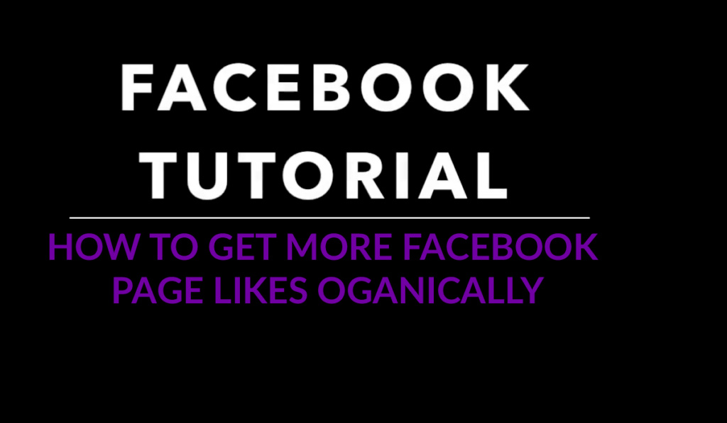 facebook page likes - how to