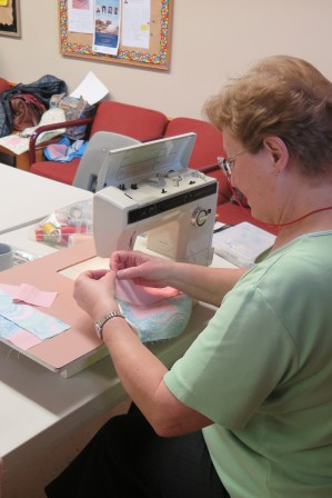 Sonia, Community Quilt Day