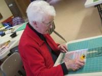 Barbara, Community Quilt Day