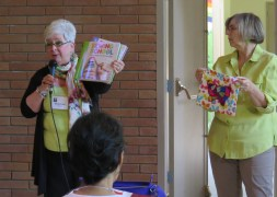 Suzanne, books for teaching children to quilt