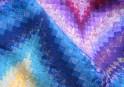 Detail - Pat's bargello quilt