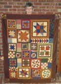 Judy S's quilt, Orphan Blocks & Patches
