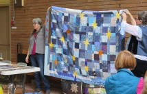 "Carol Piercy's pattern - ""Everybody Gets the Blues"" - a quilter's favourite"