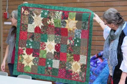 Carol's Christmas quilt