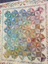 Adagietto by Jean Hillis of Ingersoll, Ontario ... music interpreted in a quilt.