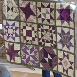 Glenna's community quilt