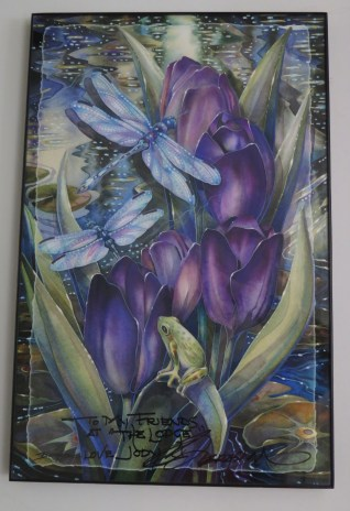 painting by local artist Jody Bergsma