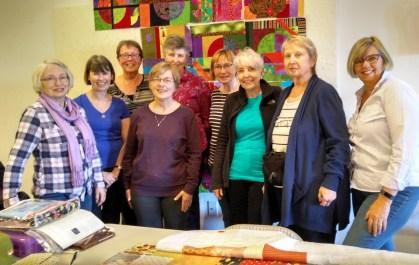 Les, Lorna, Anne, Brenda, Judy, Barb, Tere, Elaine, Diane (missing: Marilyn)