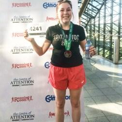 First 10K run - Edmonton Marathon