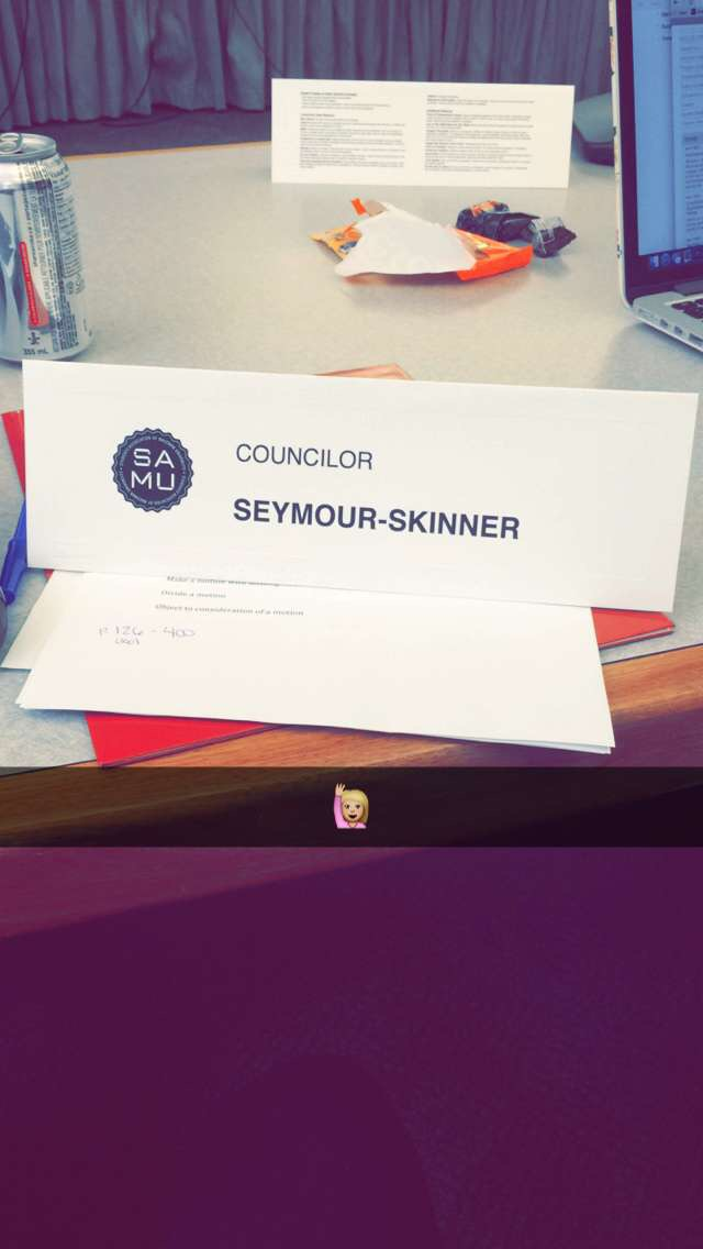 Students' Councillor name place