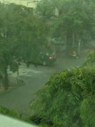 And the rainy season continues!