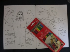 My new coloring book. Only 20 cents!!!