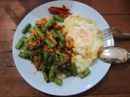 More Panang curry and EGG!!!! I am telling you TRY IT!!!! And seriously I am pretty sure this meal was $1.50 or less!