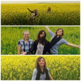 On a Saturday morning while driving we found some cool fields for pictures! Fun times!!