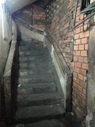 One of the many awesome/scary stairwells I find myself in looking for people!