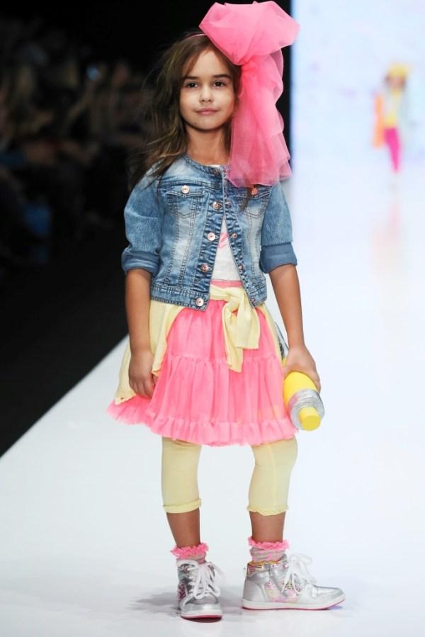 Детская мода для девочек и мальчиков весна-лето 2018, фото
