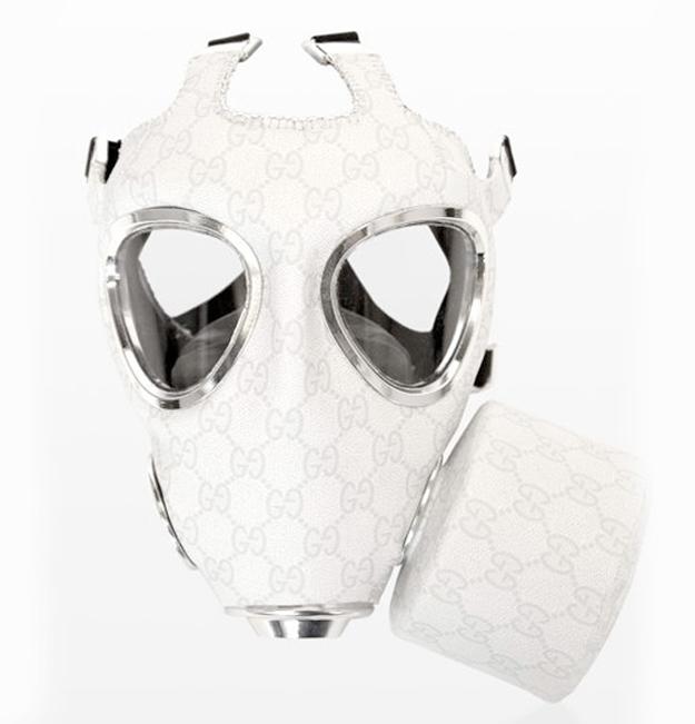 Gas Masks as High End Fashion Art (3/6)