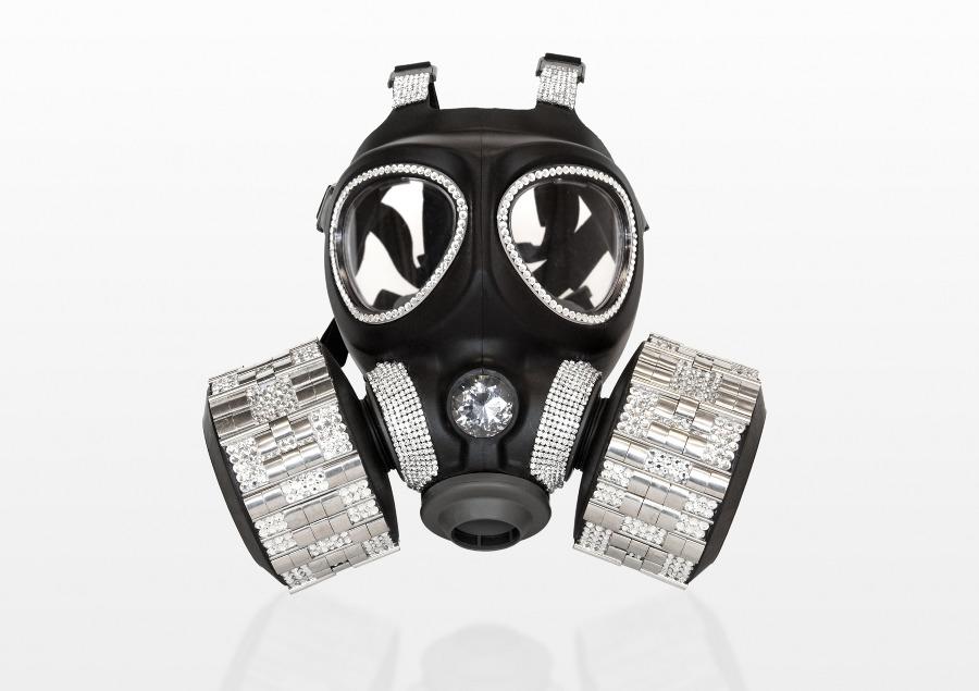 Gas Masks as High End Fashion Art (6/6)