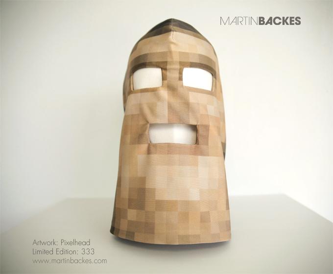 Pixelhead Limited Edition Mask – Martin Backes - art masks (2/4)