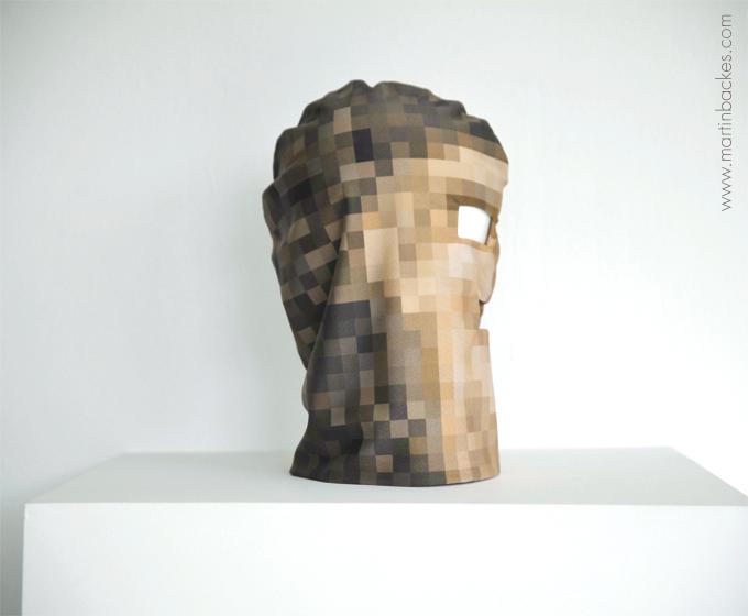 Pixelhead Limited Edition Mask – Martin Backes - art masks (4/4)