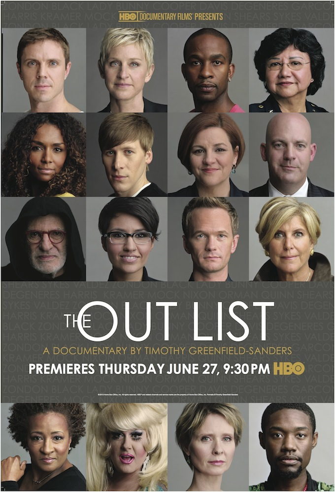 HBO The Out List