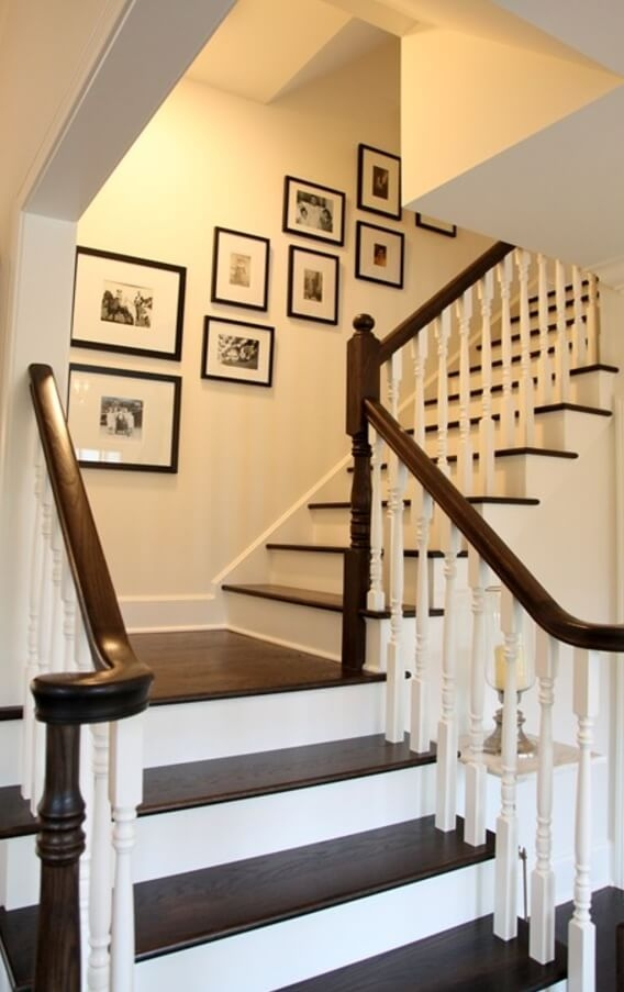 19 Painted Staircase Ideas For Your Home Decor Inspiration | Stairs Wall Paint Design | Luxury Staircase Wall | Wallpaper | Wall Colour | Beautiful | Wall Painting