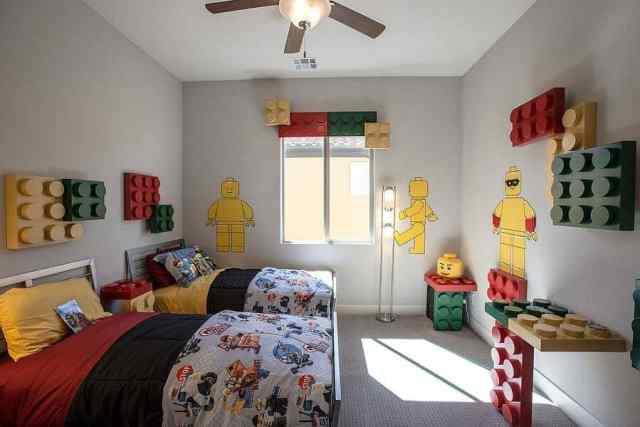 çocuk odası iç görselleri