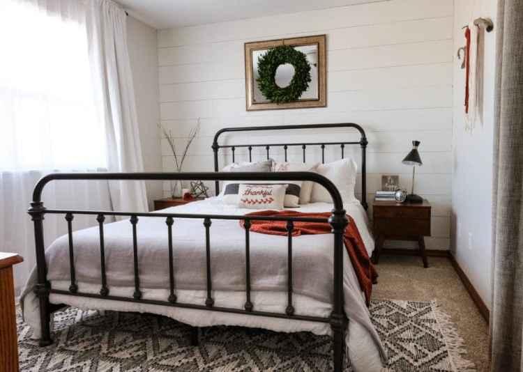 7 Farmhouse Bedroom Decor Ideas Modern Rustic Style