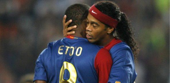 Samuel Eto'o's promise to Ronaldinho incarcerated in Paraguay
