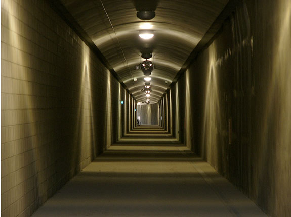 The Cal Park Tunnel as it looked in July. Photo: ##http://www.flickr.com/photos/jef/4853385025/in/photostream/##Jeff Poskanzer##