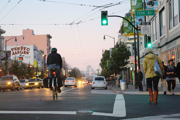 Green Wave Becomes Permanent On Valencia Street
