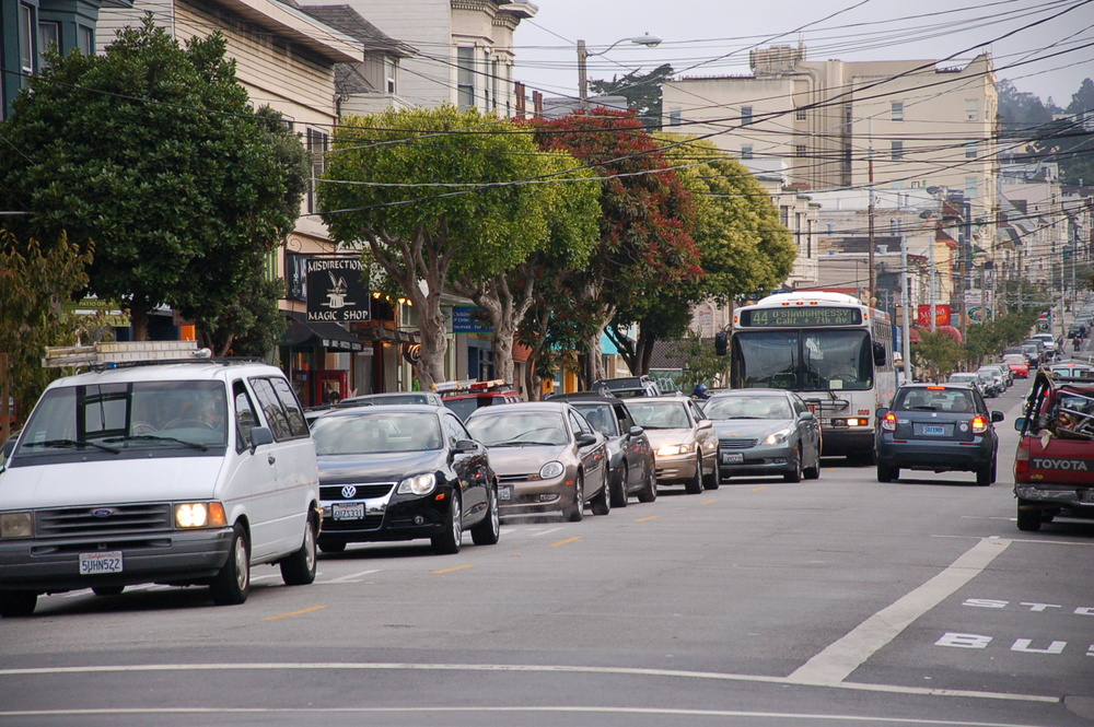 Ninth Avenue in the Inner Sunset. Photo: Aaron Bialick