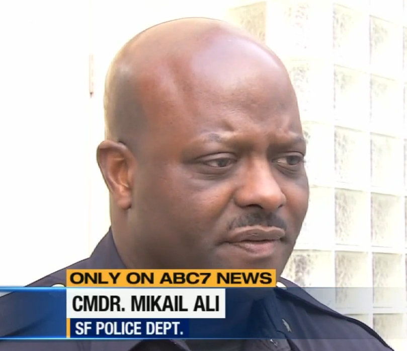 SFPD Traffic Company Commander Mikail Ali. ##http://abclocal.go.com/kgo/video?id=9386826##Photo: ABC 7##