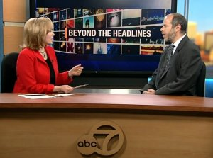 ABC's Cheryl Jennings speaks with SFMTA Director Ed Reiskin. Image: ABC 7