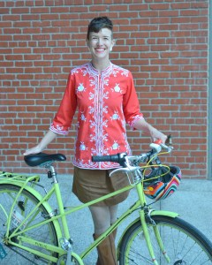 Margaret McCarthy, Interim Executive Director, San Francisco Bicycle Coalition. Photo: SFBC