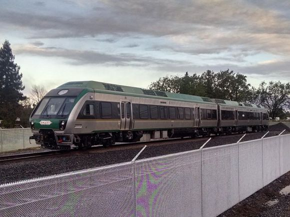 SMART rail rolling stock is delivered and testing, with the first service starting late this year