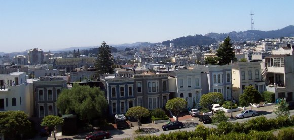 San Francisco's Western Addition. Will it take the feds to solve the Bay Area's housing woes? Image: Wikimedia Commons.