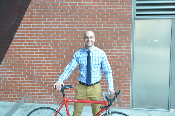 Say hello to Brian Wiedenmeier, the SF Bike Coalition's new executive director. Image: SFBC