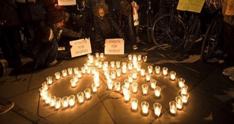 Three more people killed while cycling in the Bay Area in just the past 24 hours. Photo: SFBP Community Vigil Ride.