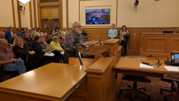 Guido Salomone blamed Muni riders for much of danger on Taraval. Photo: Streetsblog.