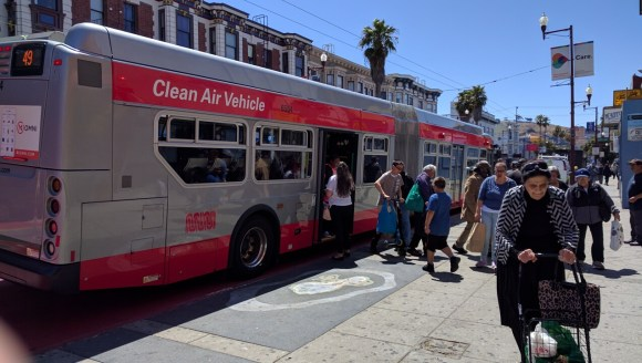 A few of the 65,000 people who take Muni to the Mission. Image: Streetsblog.