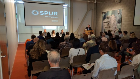 SPURs hosted a panel on the challenges of planning for families today. Photo: Streetsblog.