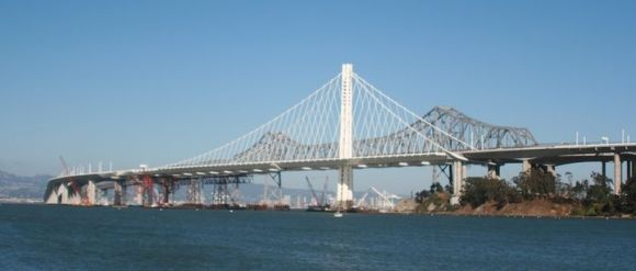 The eastern span of the Oakland Bay Bridge offers lesson in how to manage megaprojects. Image: Wikimedia Commons