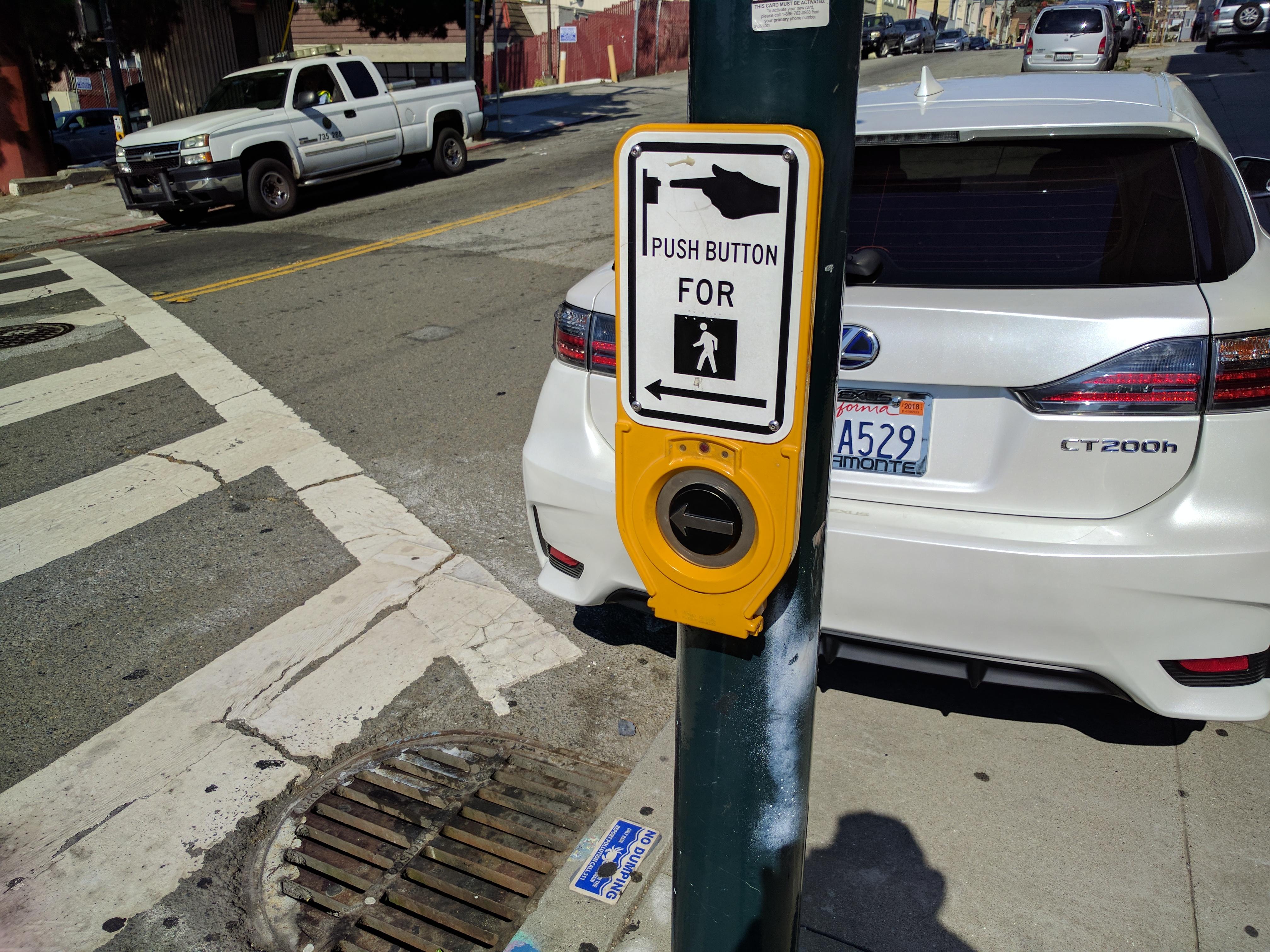 Between cars regularly parking on the sidewalk and beg buttons and countdown timers that go too fast for seniors to cross, the situation is untenable.